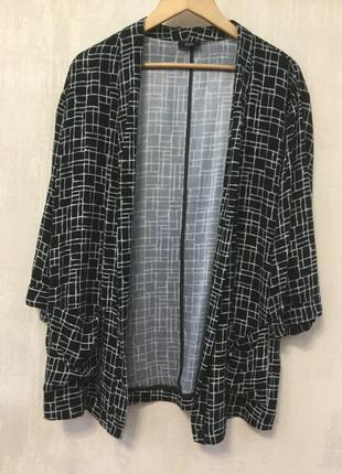 Натуральный жакет кардиган пиджак 100% вискоза