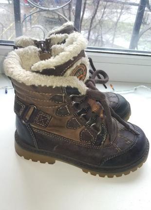 Ботинки кожа натуральная сапоги