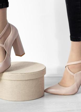 Туфли женские кожа 35 - 39