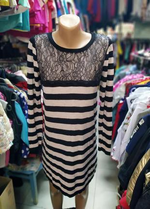 Платье вязаное, сукня, плаття