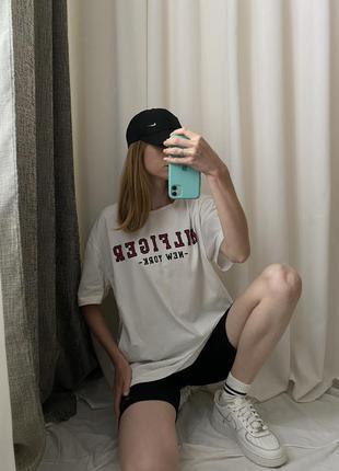 Оверсайз футболка tommy hilfiger (оригинал)