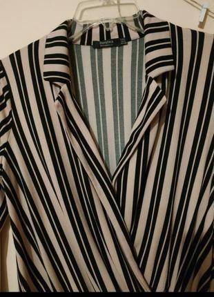 Боди блуза от bershka