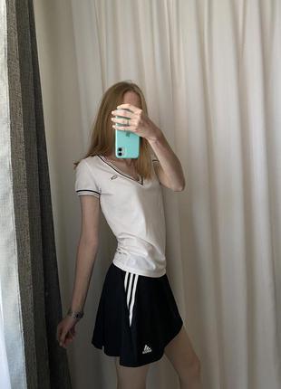 Теннисная юбка-шорты adidas (оригинал)