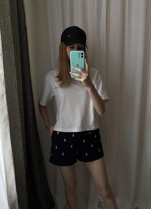 Монограммные шорты polo ralph lauren (оригинал)