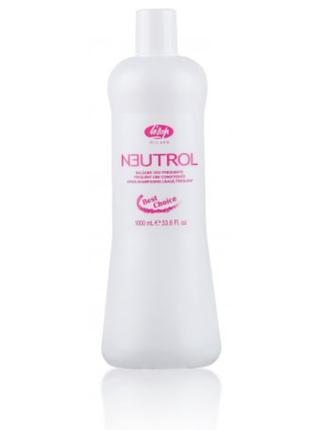 Профессиональный шампунь lisap neutrol для частого применения 1л