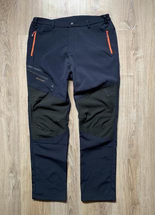Мужские утепленные спортивные треккинговые штаны демисезон outdoor sports