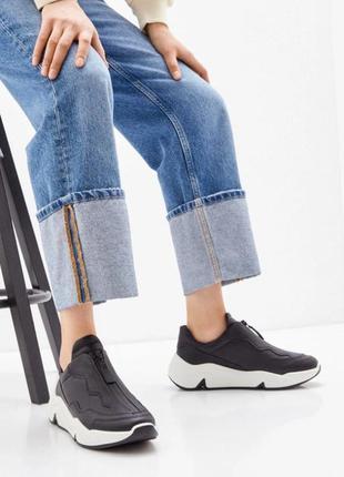 Кроссовки ecco chunky sneaker w