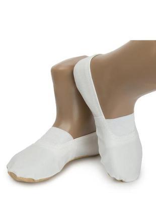 Чешки для мальчика девочки дівчинки хлопчика кожзам белые балетки