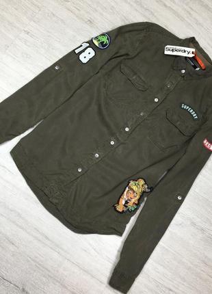 Рубашка легкая с наклейками оригинал