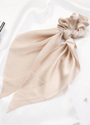 Однотонная резинка-платок пастельные тона тренд 2021 / большая распродажа!