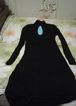 Черное платье с журнала bonprix