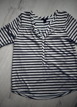 Рубашка в полоску h&m