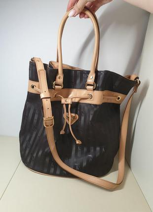 Дизайнерская сумка мешок maison mollerus сумка ведро тоут оригинал швейцария