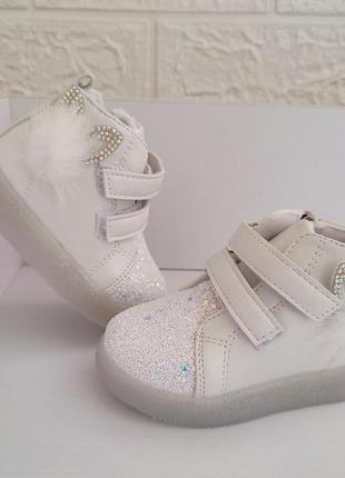 Нежные ботиночки для малышей от bbt 🐰  лёгкие, на ножке не чувствуются.