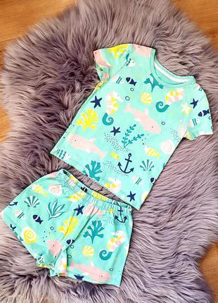 Піжама для хлопчика, пижама для мальчика, пижама шорты с футболкой