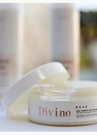 Маска brae divine deep cosmetics hair treatment mask anti-frizz hair m