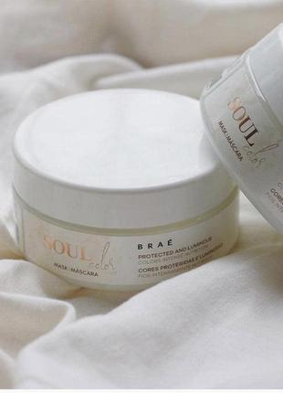 Маска для окрашенных волос brae soul color mask hair treatment mask