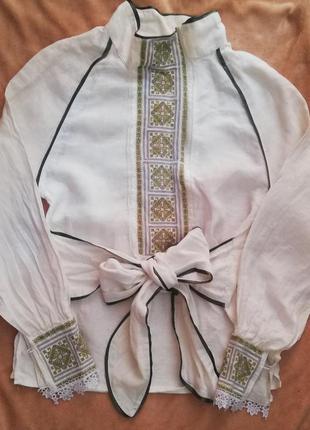 Сорочка льон с розмір