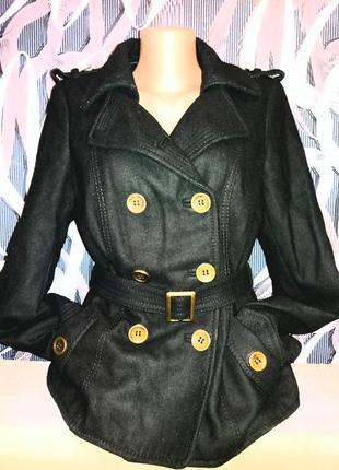 Базовое короткое пальто