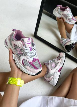 Кроссовки женские new balance 530 pink