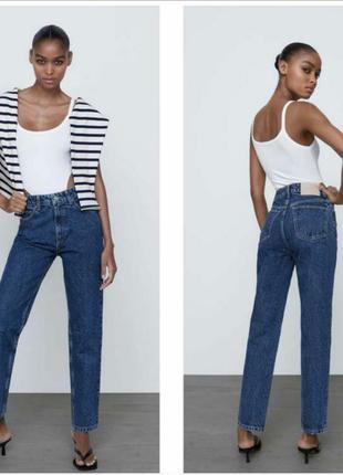 Женские джинсы zara mom, zara джинси, джинси zara