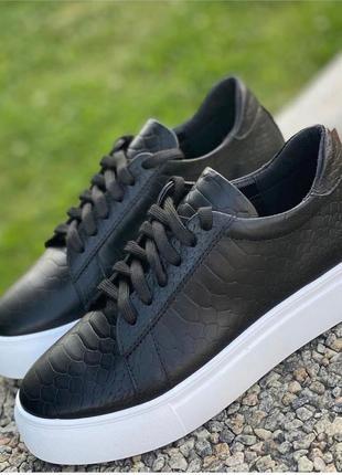 40-41р кожа новые кожаные черные мокасины на шнуровке