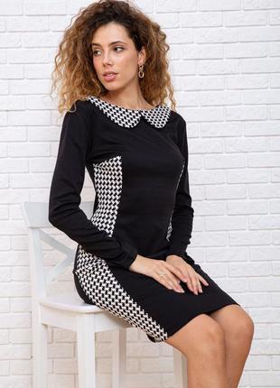 Сукня з комірчиком ефектна святкова xs s