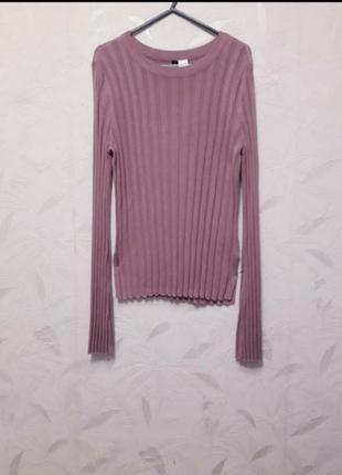 Модный свитерок из тонкого, мягкого с лёгкой шелковистостью трикотоажа от  divided by h&m