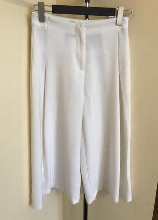 Широкие штаны кюлоты zara