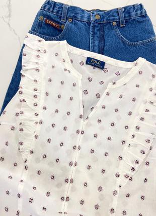 Хлопковая качественная мягкая футболка блузка рубашка оригинал