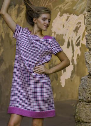 Распродажа комфортное и универсальное, эксклюзивное платье - авторская одежда tulupov