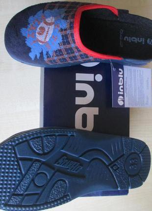 Тапки, домашняя обувь для мальчика. inblu. 19 см.