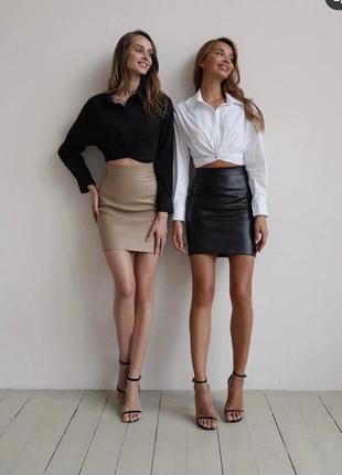 Костюм женский двойка (рубашка+юбка)