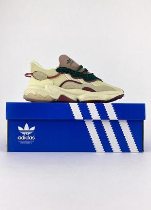 Adidas ozweego white bordo