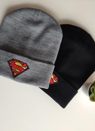 Шапка супермен superman  супергерой