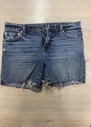 Джинсовые шорты gap