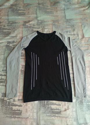 Термо кофта, компрессионная футболка с длинным рукавом фирмы top tex.м-ка.48/50.оригинал.