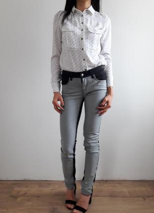 Двухцветные скинни pepe jeans sale