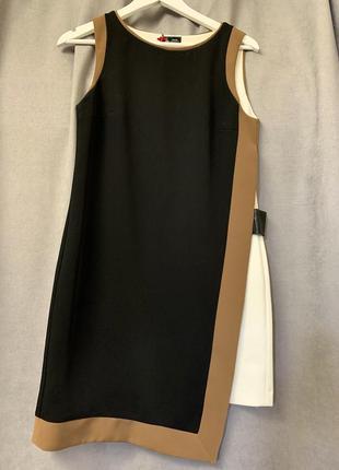 Графичное мини платье