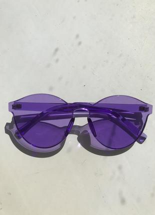 Фиолетовые очки тренд