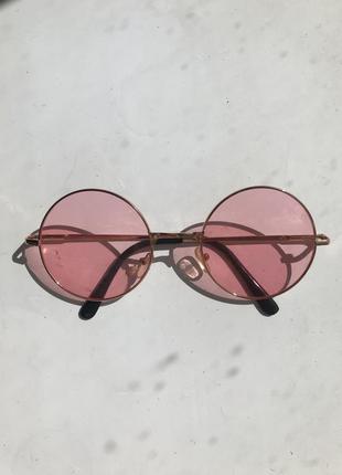 Крутые розовые очки