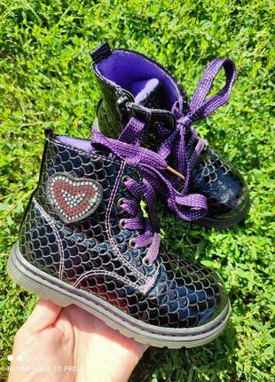 Демісезонні ботинки деми 26р 16см