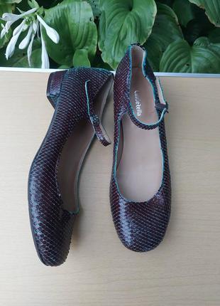 🍭40 🍭 кожаные туфли cinderella, италия