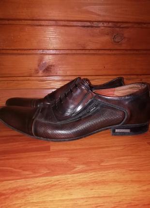 L-style original чоловічі туфлі шкіра, р. 42