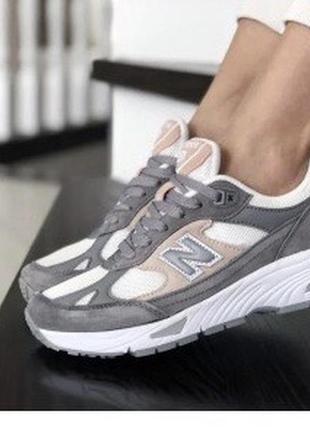 Кожаные легкие кроссовки