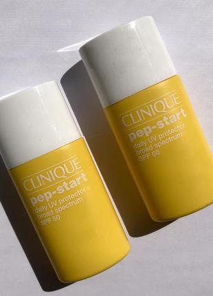 Солнцезащитный крем clinique - prp-start daily uv protector broad spectrum spf 50