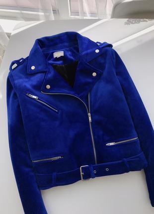 Синяя куртка косуха yes or no