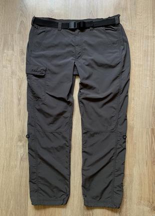 Мужские треккинговые штаны с ремнем туристические походные schoffel