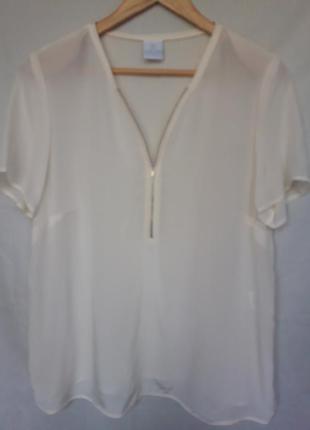 Блуза шёлковая madeleine.