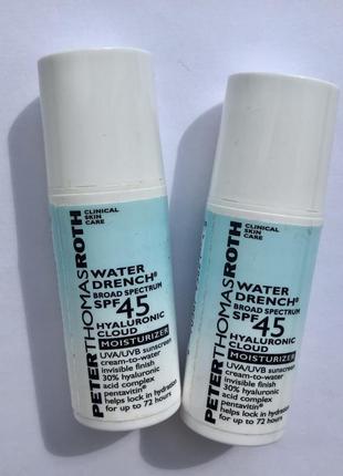 Увлажняющий солнцезащитный крем peter thomas roth - water drench spf 44
